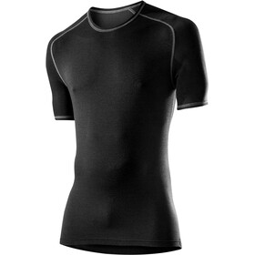 Löffler Transtex Warm Camisa Manga Corta Hombre, negro